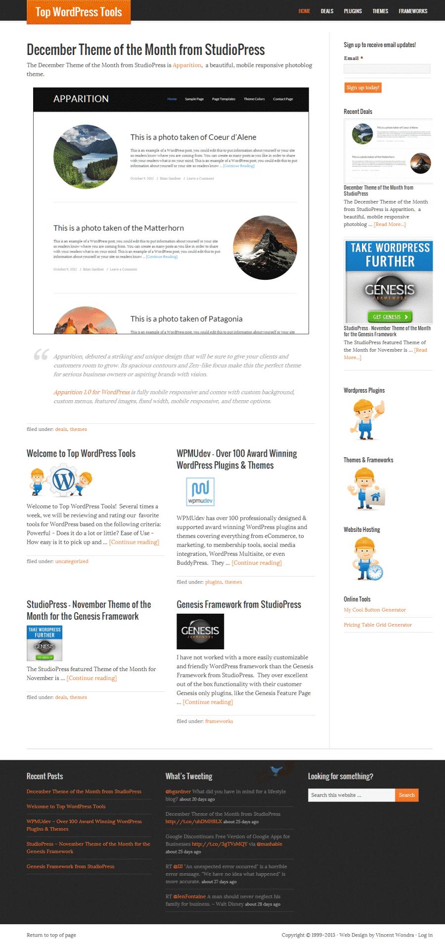 Top WordPress Tools