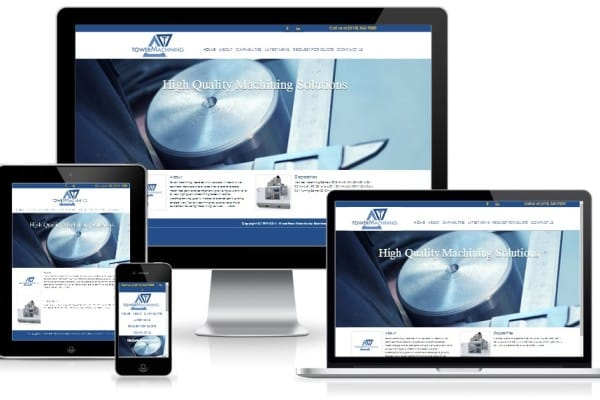 Tower Machining - Mobile Responsive