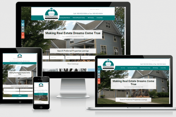 Real Estate site for Preferred Properties