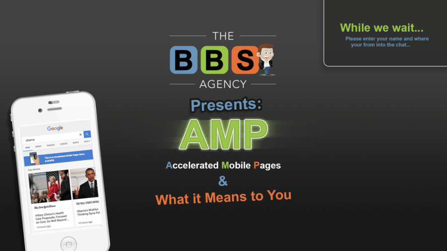 AMP Webinar