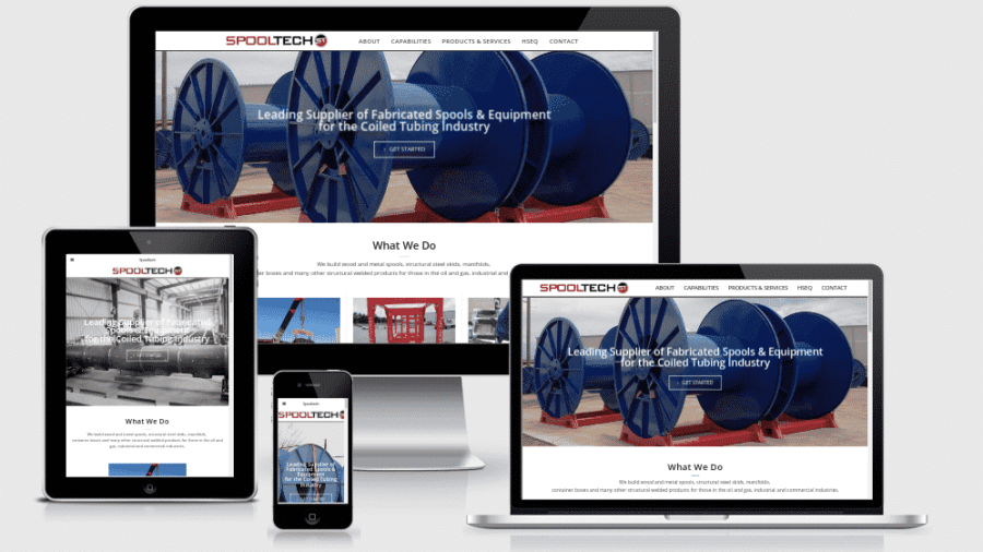 New Fabrication Website for Spooltech