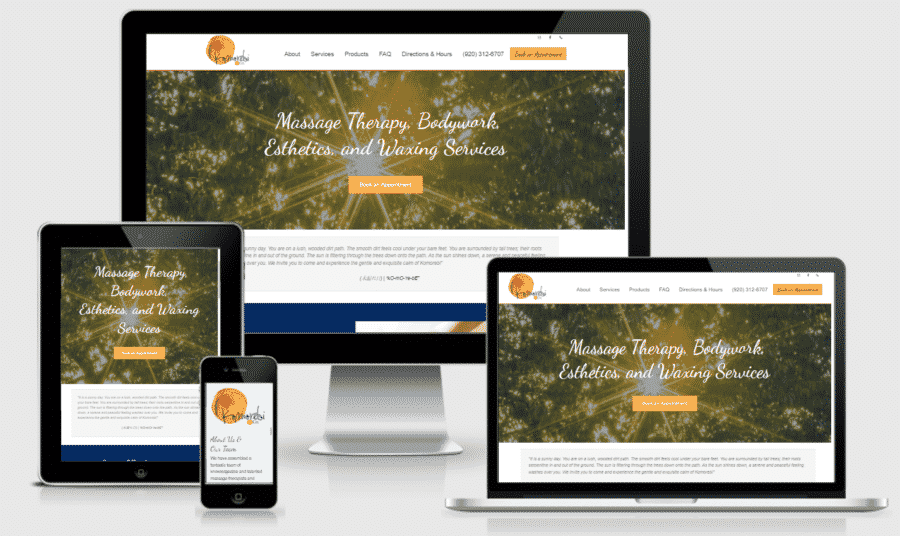 New Salon Website for Komorebi & Co
