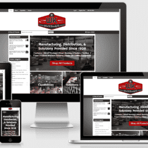 New Manufacturing Website For Ward & Kennedy