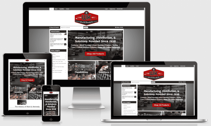 Ward & Kennedy Mobile Responsive