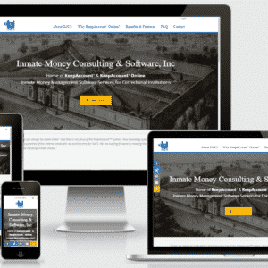 New eCommerce Site for Inmate Money Consulting & Software Inc