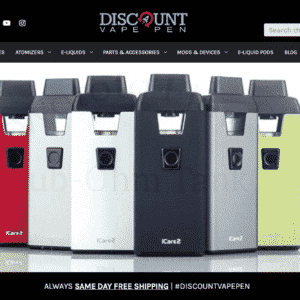New E-Commerce Website For Discount Vape Pen