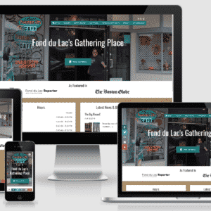 Restaurant Website for Annie's Fountain City Cafe