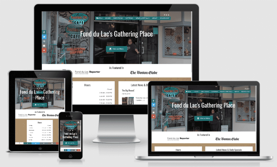 Annies Fountain City Cafe Responsive