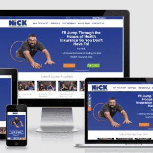 New Health Insurance Website for Nick the Insurance Guy
