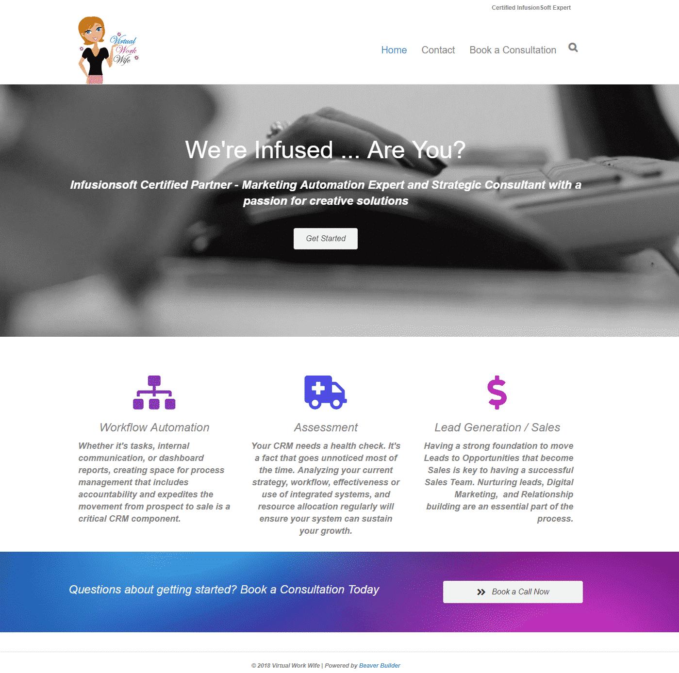 Example PBMS Website