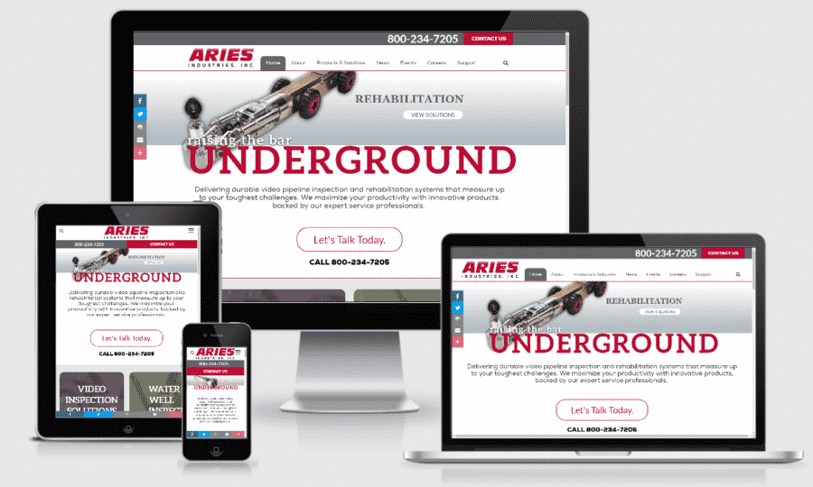 Aries Industries Responsive
