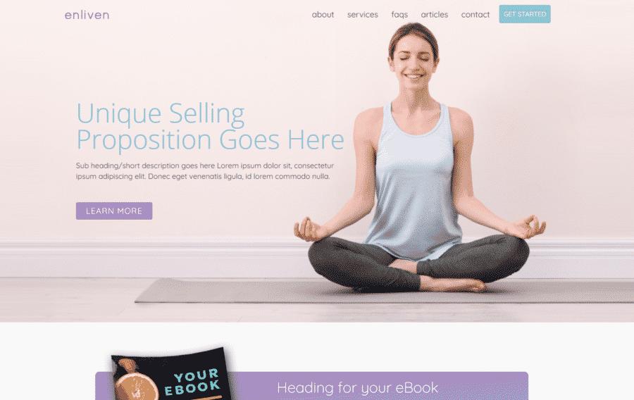 Prebuilt Health Coaching Website